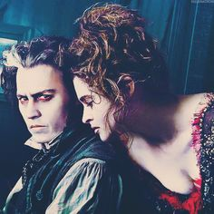 """Sweeney Todd (2007) - """"These are desperate times, Mrs. Lovett and desperate measures are called for."""""""