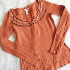 Lucky Brand Native Doll Thermal Lucky Brand thermal. Doll design around the neck. Very cute. Great, pre-loved condition. No stains or holes. Size M. Lucky Brand Tops Tees - Long Sleeve