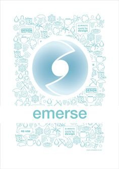 emerse project logo poster