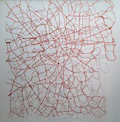 Susan Stockwell, London Arteries, 2009