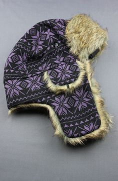Limited Edition: The Purple Trapper Hat by Refinement Clothing Co.