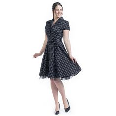 Nemidor Hot Sales Women Casual Plus Size Midi Swing Dress Dot Short Sleeve O-neck A-line Retro Dress Pixie Outfit, Mandala Design, Spring Dresses, Short Sleeve Dresses, Goth Dress, Hooded Dress, Retro Dress, London, Swing Dress