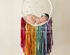 Items similar to Rainbow Dreamcatcher (Large) + Quartz Pendant on Etsy Dream Catcher, Christmas Decorations, Quartz, Rainbow, Etsy, Pendant, Bow Braid, Clouds, Rain Bow