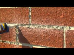 How to Tuck-Point Mortar Joints with Mortar Repair with QUIKRETE - YouTube