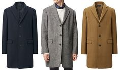 UNIQLO: Topcoats have arrived | The Thursday Handful on Dappered.com