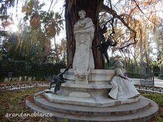 parquemarialuisa-encinarosa: Restauración Glorieta de Bécquer - Parque de María...