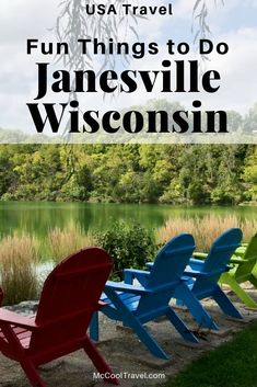 Fun things to do in Janesville Wisconsin include a mix of downtown dining and shopping, outdoor activities, interesting history, and a top-rated botanical garden. #travel #tripideas #Janesville #Wisconsin