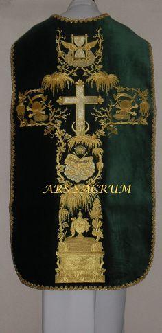 Chasuble Casula Vestment CASEL Casulla Kasel MESSGEWAND | eBay