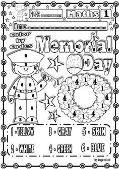 veteranmemorial day maths funny printables for kids