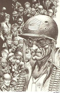 Comic Book Artist : Joe Kubert