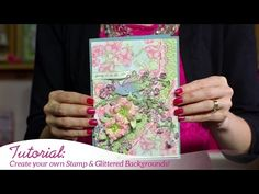 Stuck creatively? Creative inspiration and a step by step video for you!