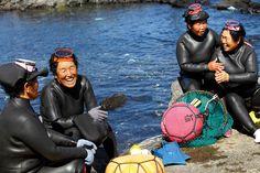Haenyeo, as mergulhadoras de Jeju