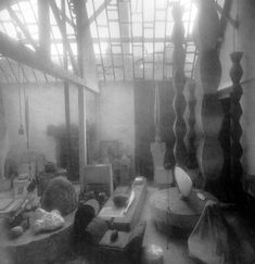 Brancusi's studio, Paris