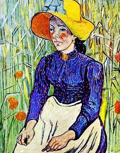 Van Gogh, Vincent (1853-1890) - 1890 Portrait of a Young P… | Flickr