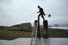 Picture of a chimney sweep in Oregon