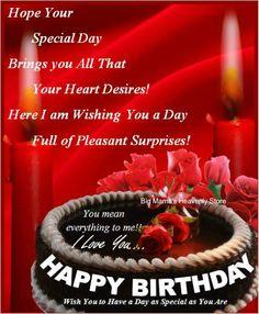 Birthday Card Template Free Printable Cards Greeting