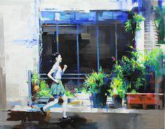 "Check out new work on my @Behance portfolio: ""거리를달리는소녀"" http://be.net/gallery/55304081/_"