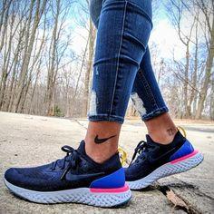 Versatile enough for a workout or weekend relaxation. Nike Air Force, Estilo Fashion, Nike Free, Tênis De Corrida, Vogue, Compras, Tênis Nike