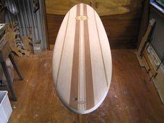Making hollow wooden Paulownia Egg Surfboard Slideshow.wmv