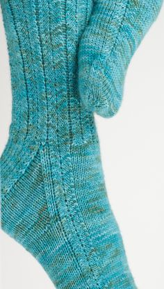 Dawn Treader Socks – Three Irish Girls Yarn Inc Knitting Socks, Knitting Stitches, Free Knitting, Knitting Patterns, Knit Socks, Knitting Kits, Two Needle Socks, Patterned Socks, How To Purl Knit
