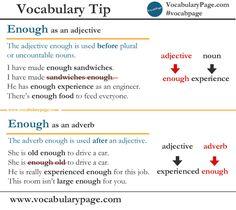 Vocabulary tip #15 #English www.vocabularypage.com