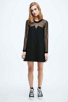 Little black dress with an edge