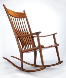 Sam Maloof Rocker Furniture Chair Rocking Chair Sam