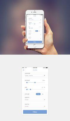Mobile App Filter screen design Designed by MirzaIftekar  MobileApp UIDesign UX  Filter Mobile App UI Design
