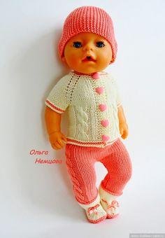 Мои МК для Бэби Бона / Вязание для кукол / Бэйбики. Куклы фото. Одежда для кукол Beautiful Children, Beautiful Dolls, Baby Born Clothes, Knit Crochet, Crochet Hats, Barbie And Ken, Puppets, Baby Dolls, Doll Clothes
