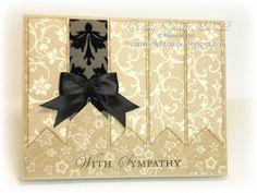 Elegant sympathy card