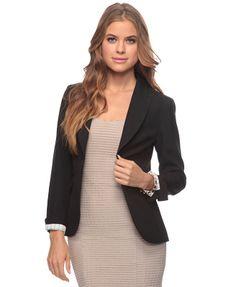 black single button blazer ($22.80)