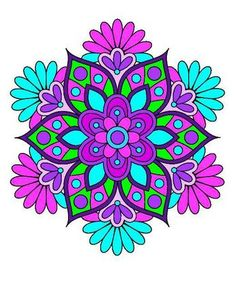 Rosa Mary's media content and analytics Mandala Artwork, Mandala Painting, Dot Painting, Fabric Painting, Coloring Books, Coloring Pages, Mandala Pattern, Rock Crafts, Mandala Coloring