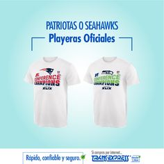 La camisa de tu equipo! Rápido, confiable y seguro con TransExpress.