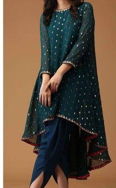 - Indian Satin Dhoti Shalwar Georgette Sequins Embr Kameez suit Ethnic wear dress Source by farhadkhalfey - Shadi Dresses, Pakistani Formal Dresses, Indian Gowns Dresses, Pakistani Dress Design, Pakistani Outfits, Party Wear Indian Dresses, Pakistani Clothing, Stylish Dresses For Girls, Stylish Dress Designs