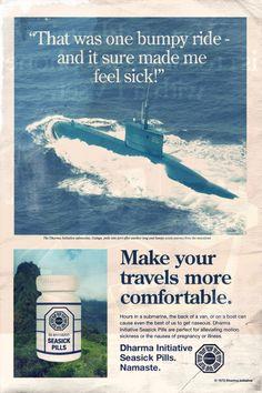 Dharma Initiative Magazine Ads by Adam Campbell