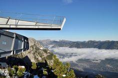Panorama für Schwindelfreie unterhalb der Alpspitze