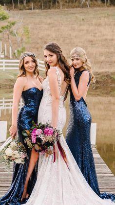 Bridesmaid Dresses, Wedding Dresses, Bright, Fashion, Bridesmade Dresses, Bride Dresses, Moda, Bridal Gowns, Fashion Styles