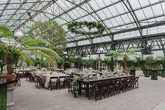 Spring Planterra Conservatory Wedding by Kari Dawson Photography.