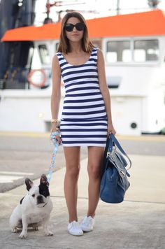 navy dress - Lovely Pepa by Alexandra