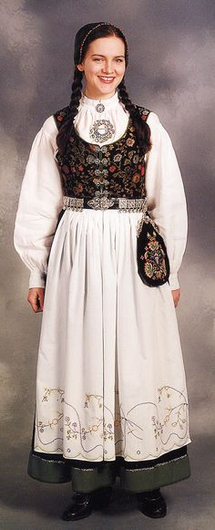 Hello all, Today I will try to cover all of Norway. Norway has many beautiful costumes, and the folk costume culture is alive and we. Traditional Fashion, Traditional Outfits, Norway Culture, Country Costumes, Norwegian Clothing, German Folk, Folk Clothing, Beautiful Costumes, Folk Costume