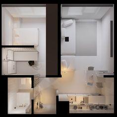 Портфолио квартиры jb1h • Sirotov Architects