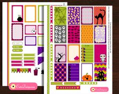 I had some problems with cutedaisy.com and lost many posts that I had made earlier so now I am going to share these posts again. I have made these cute and colorful stickers for Halloween that you can use to decorate your happy planner and also your ECLP. I am sharing the kits again. Free …