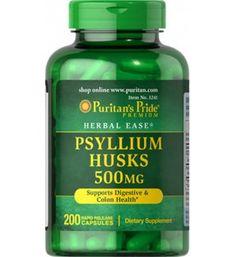 Las cáscaras de psilio son una fuente de fibra soluble y un saludable agregado a su dieta, que favorece la salud en causas de estreñimiento.
