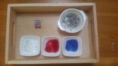 We have been preparing for an Independence Day party and I wanted to share with you what we did. First here are some of the trays we set up – hopefully the images are self explanitory: Safety… Independence Day Activities, Independence Day Flag, Independance Day, Montessori Materials, Safety, Free, Security Guard