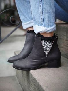 Jeffrey Campbell Cast & Crew Ankle Boot