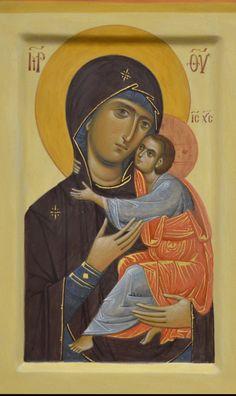 Catholic Pictures, Byzantine Icons, Blessed Virgin Mary, Orthodox Icons, Angel Art, Sacred Art, Religious Art, Holy Spirit, Madonna