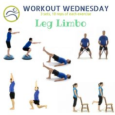 It's leg day! Give our quick workout a try! Wednesday Workout, Legs Day, How To Better Yourself, Exercise, Ejercicio, Excercise, Exercise Workouts, Physical Exercise, Work Outs