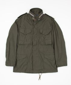 The Real McCoys M-65 Field Jacket - Superdenim