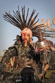 . Mad Max, Larp, Urban Samurai, Art Steampunk, Wasteland Warrior, Fallout, Wasteland Weekend, Warrior Costume, Post Apocalyptic Fashion