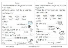 graad 1 lees - Google Search Afrikaans, Teacher, Advice, Education, Google Search, School, Image, Kids, Young Children